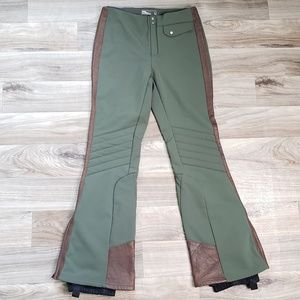 RLX Ralph Lauren Ski Pants Leather Accents C1